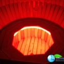 Аквабеседка - Банный чан Фурако с гидромассажем из лиственницы с подсветкой (2)